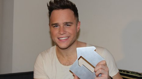 Olly Murs with award