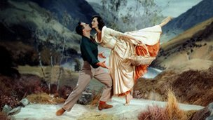 Gene Kelly and Cyd Charisse in Brigadoon