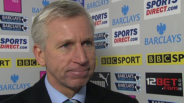 Newcastle Utd manager Alan Pardew