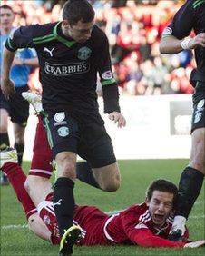 Peter Pawlett hits the deck