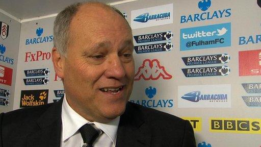 Martin Jol - Fulham manager