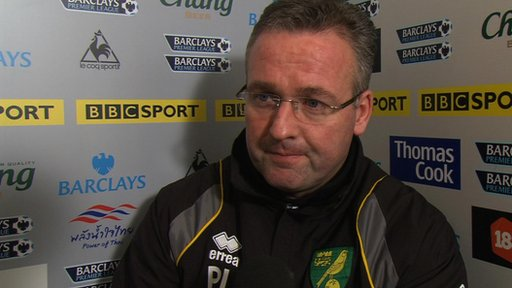 Paul Lambert - Norwich manager