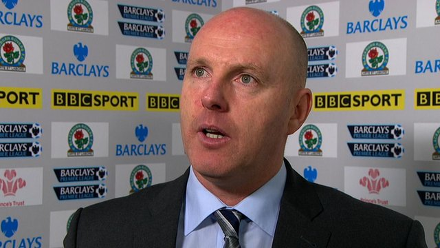Blackburn Rovers boss Steve Kean