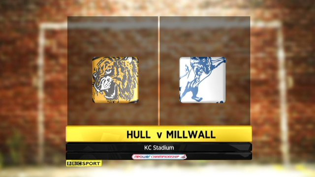 Highlights - Hull 2-0 Millwall