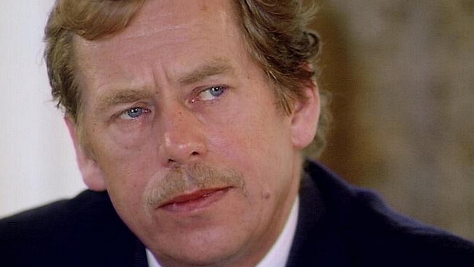 from playwright to president vaclav havel Future president vaclav havel, then a dissident leader and respected playwright, was a leading light of the opposition civic forum, who drafted much of charter 77, the declaration that.