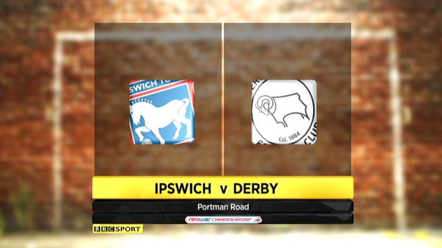 Highlights - Ipswich 1-0 Derby