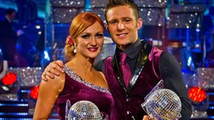 Aliona Vilani and Harry Judd