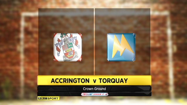 Highlights - Accrington 3-1 Torquay