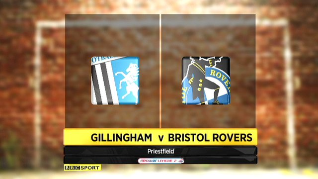 Highlights - Gillingham 4-1 Bristol Rovers