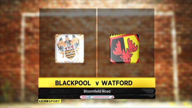 Blackpool 0-0 Watford