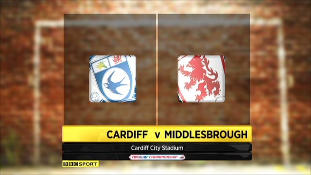 Cardiff 2-3 Middlesbrough