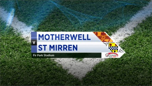 Highlights - Motherwell 1-1 St Mirren