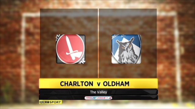 Charlton 1-1 Oldham