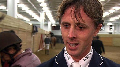 GB show jumper Ben Maher