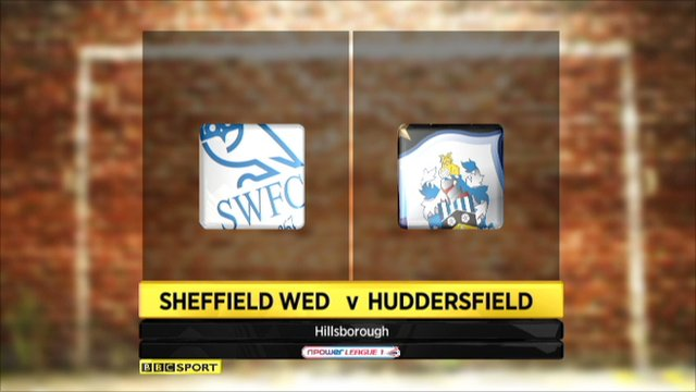 Sheffield Wed 4-4 Huddersfield