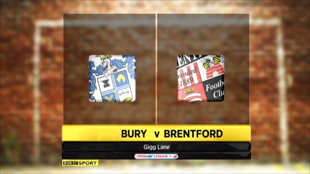 Bury 1-1 Brentford