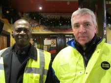Devin and Kevin are security staff in Birmingham