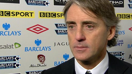 Roberto Mancini - Man City manager