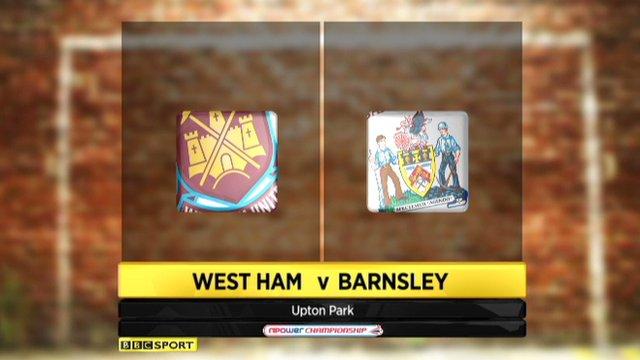 Highlights - West Ham 1-0 Barnsley