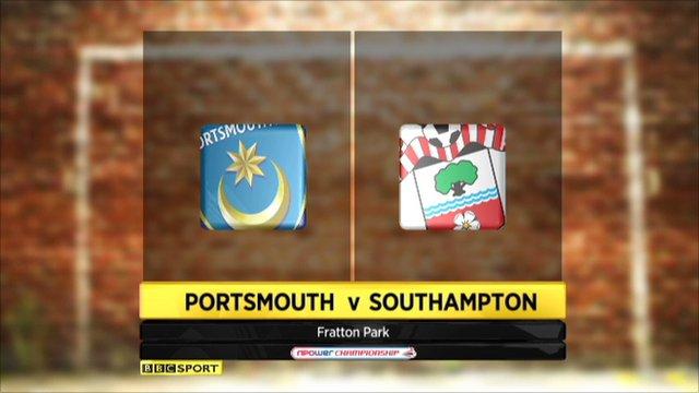 Portsmouth 1-1 Southampton