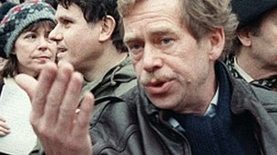 Vaclav Havel in 1988