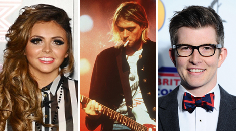 Little Mix, Nirvana's Kurt Cobain and choir conductor Gareth Malone