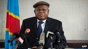 Etienne Tshisekedi (18 December 2011)