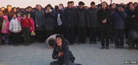 Mourning in Pyongyang