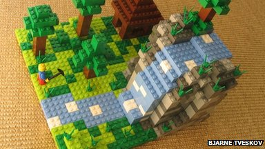 Mojang Lego video game concept set