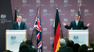 William Hague and Guido Westerwelle