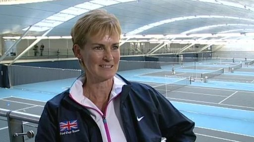 Judy Murray - Britain's Fed Cup captain