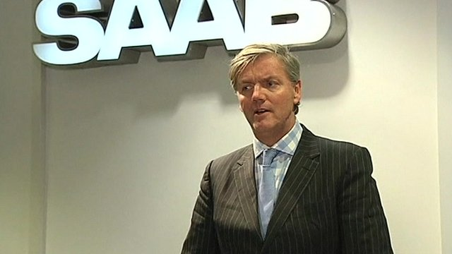 Saab CEO Victor Muller