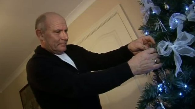 Dave Powell gets ready for Christmas after being told he was clear of prostate cancer