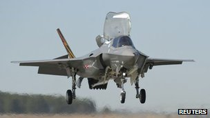 F-35 Joint Strike Fighter (file image)