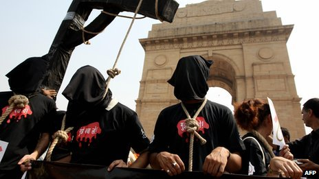 The death penalty has generated strong feelings in India