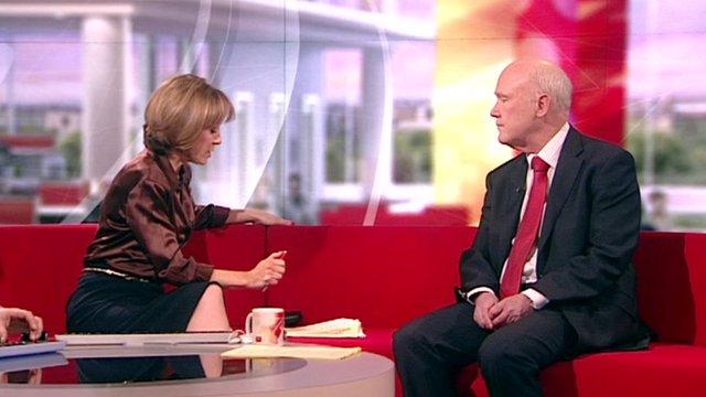 Prospect's Paul Noon talks to BBC's Sian Williams