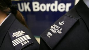 UK Border officers