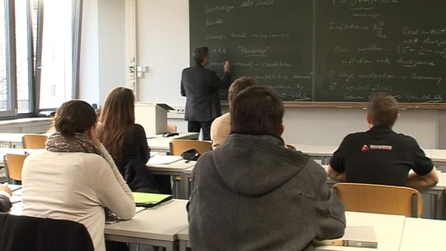 Classroom learning in the German apprenticeship system