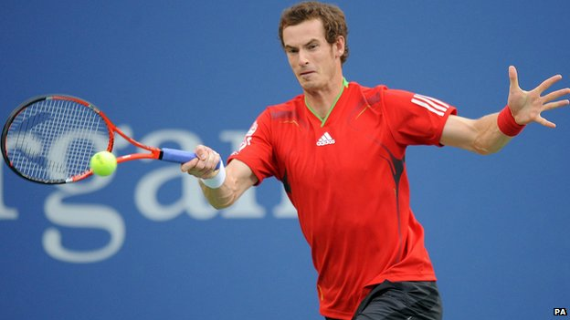 British tennis star Andy Murray