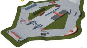 Skate park design