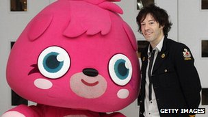 Michael Acton Smith and a Moshi Monster