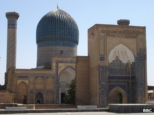 Bukhara trading domes