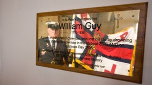 William Guy plaque