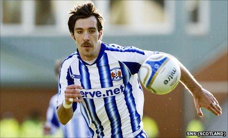 Manuel Pascali BBC Sport Kilmarnock want Manuel Pascali to stay until