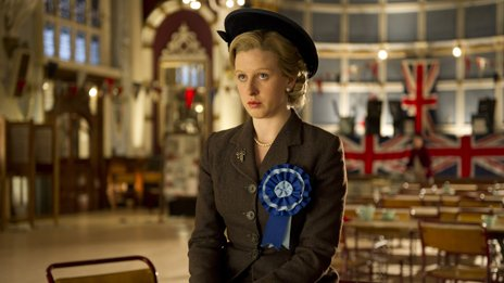 Alexandra Roach as a young Margaret Thatcher
