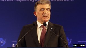 Turkish President Abdullah Gul (9 Dec 2011)