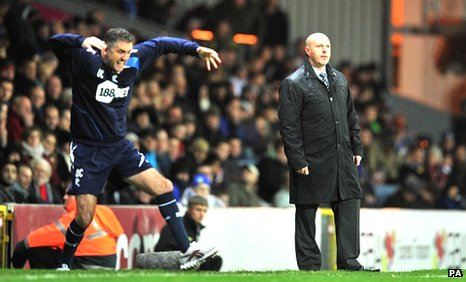 Owen Coyle and Steve Kean