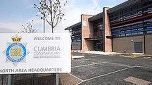 New Cumbria Police HQ