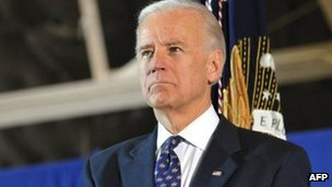 US Vice-President Joe Biden in Maryland VA (20 Dec 2011)