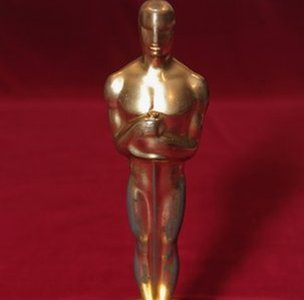 Oscar statuette awarded to Citizen Kane for the 1941 best screenplay Academy Award